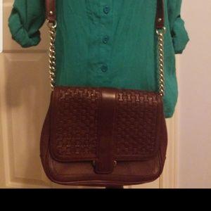 Banana Republic Authentic Leather Crossbody Bag